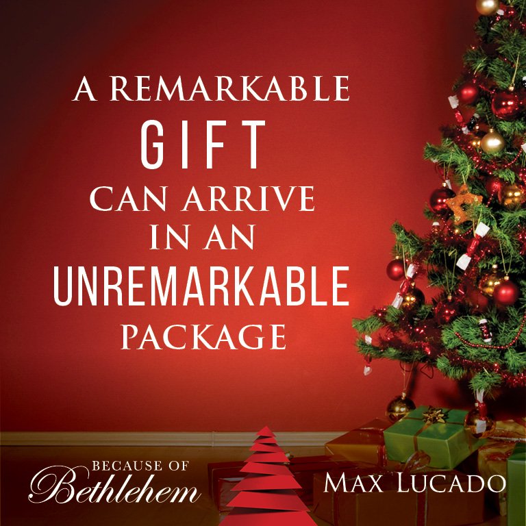 a christmas book from max lucado because of bethlehem love is born hope is here