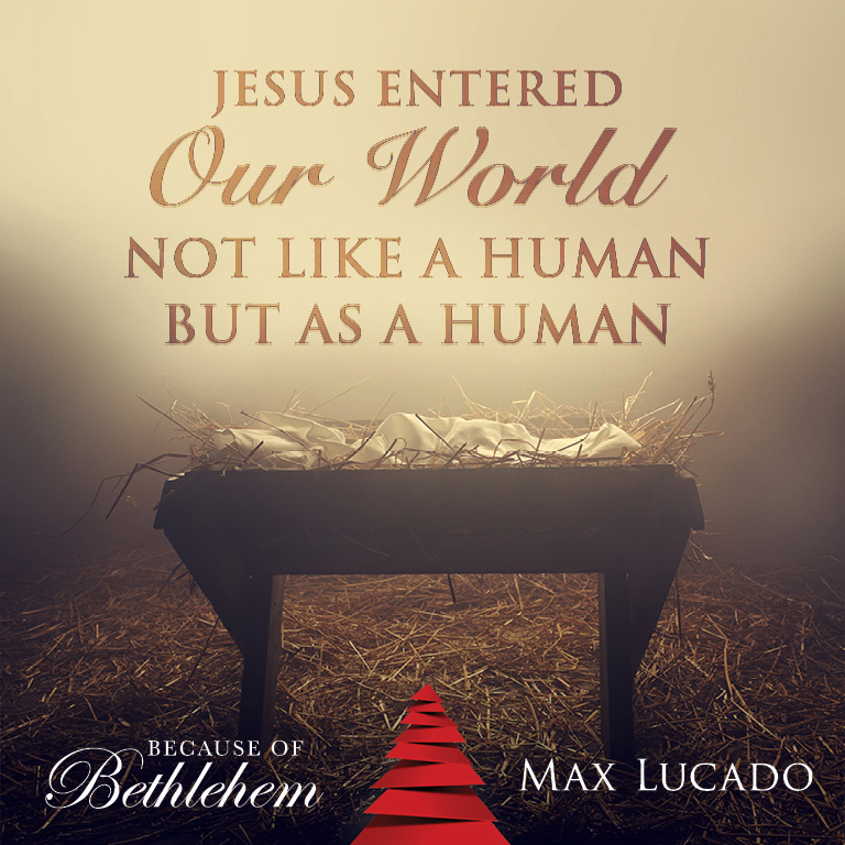 Genial A Christmas Book From Max Lucado U2013 Because Of Bethlehem: Love Is Born, Hope  Is Here